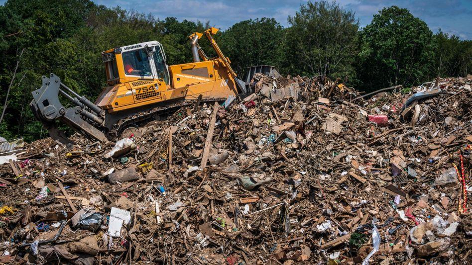 Müllzwischenlager in Niederzissen