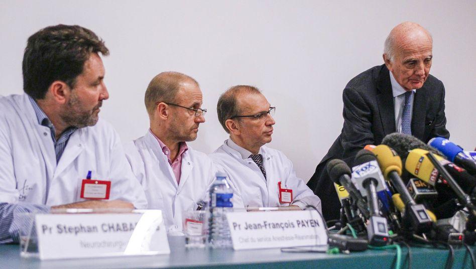 Zweite Operation nach Skiunfall: Ärzte geben keine Entwarnung für Schumacher