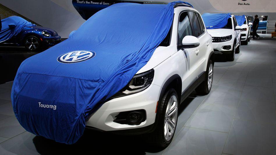VW-Fahrzeuge (Symbolbild)