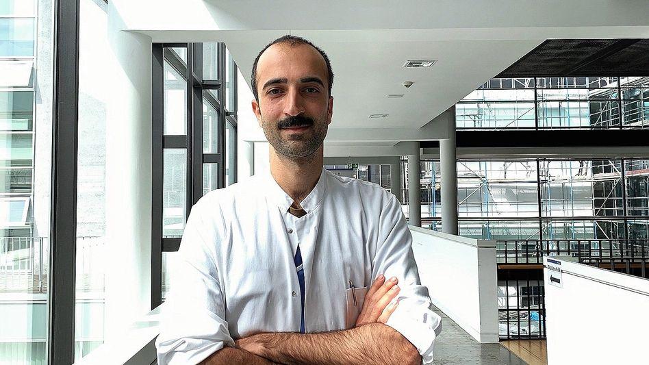 Celik,33, ist Internist und Pneumologe am Klinikum Darmstadt