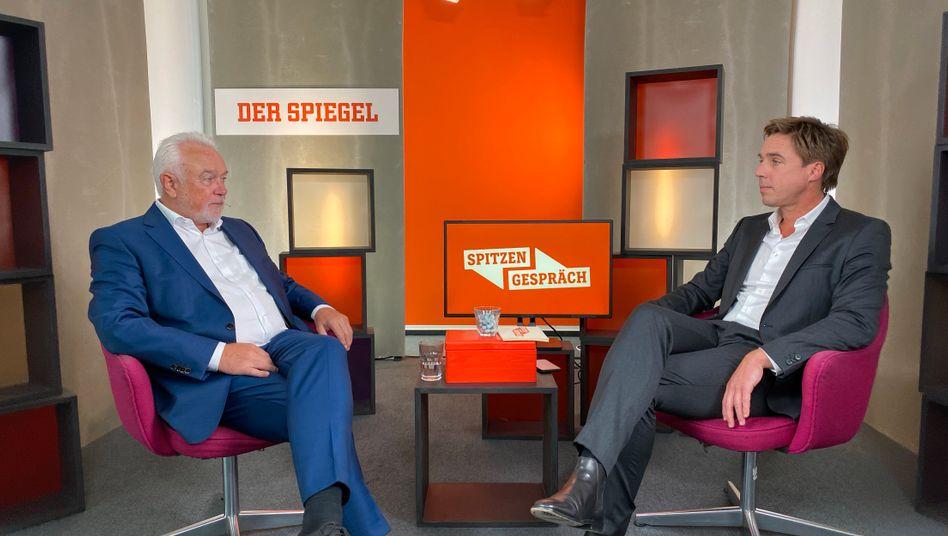 FDP-Vize Wolfgang Kubicki im Gespräch mit Markus Feldenkirchen