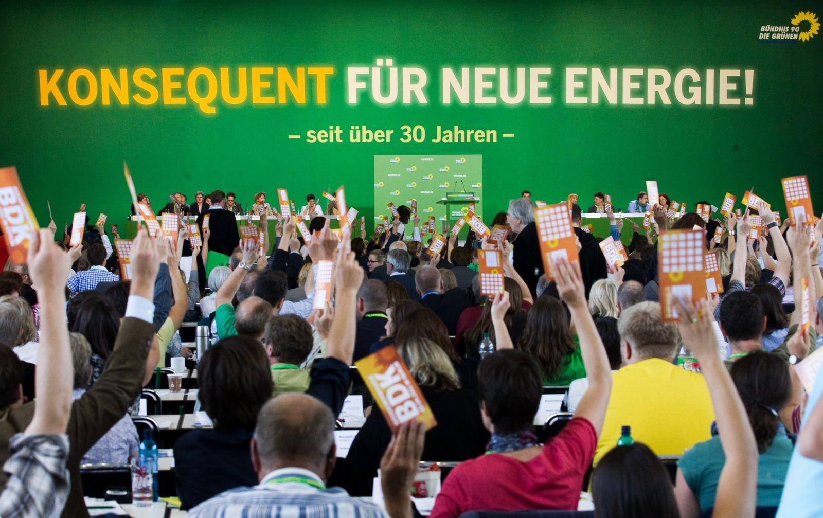 Bundesdelegiertenkonferenz der Grünen / Abstimmung