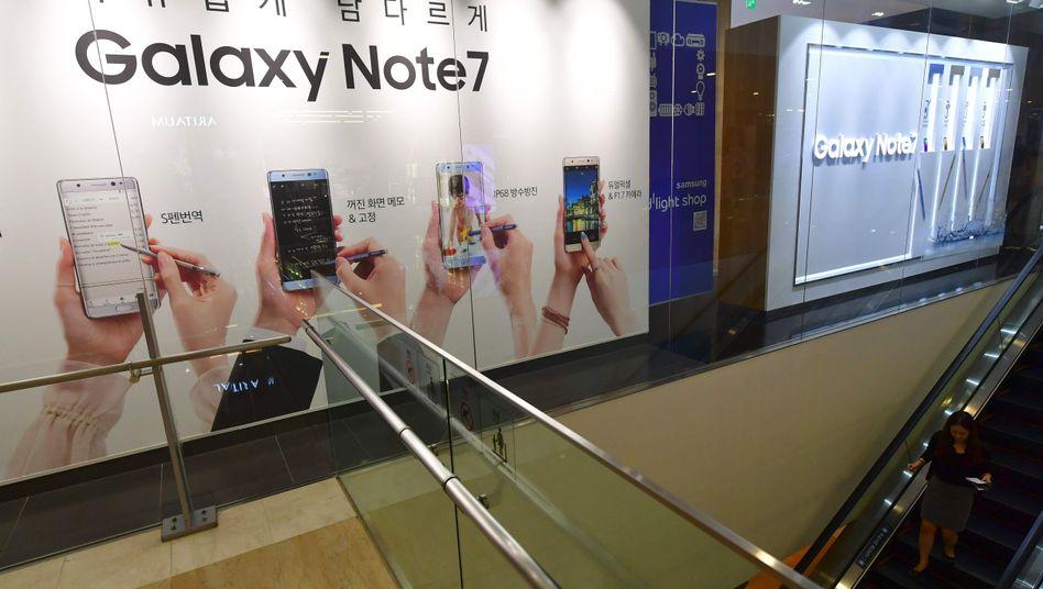 Samsung-Showroom in Seoul