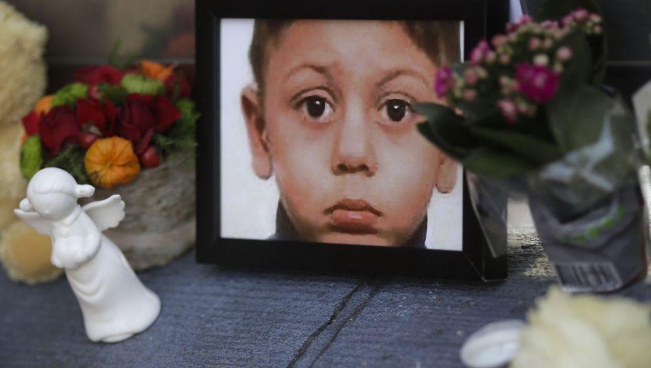 Ein Bild des getöteten Mohamed: Hartnäckig und lebensfroh