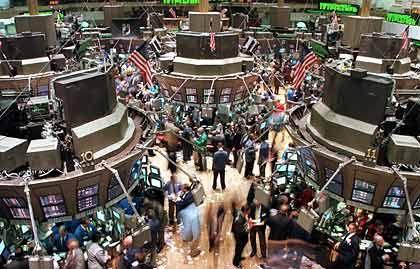 """Wall Street in New York: """"Investoren kommen ins Grübeln"""""""