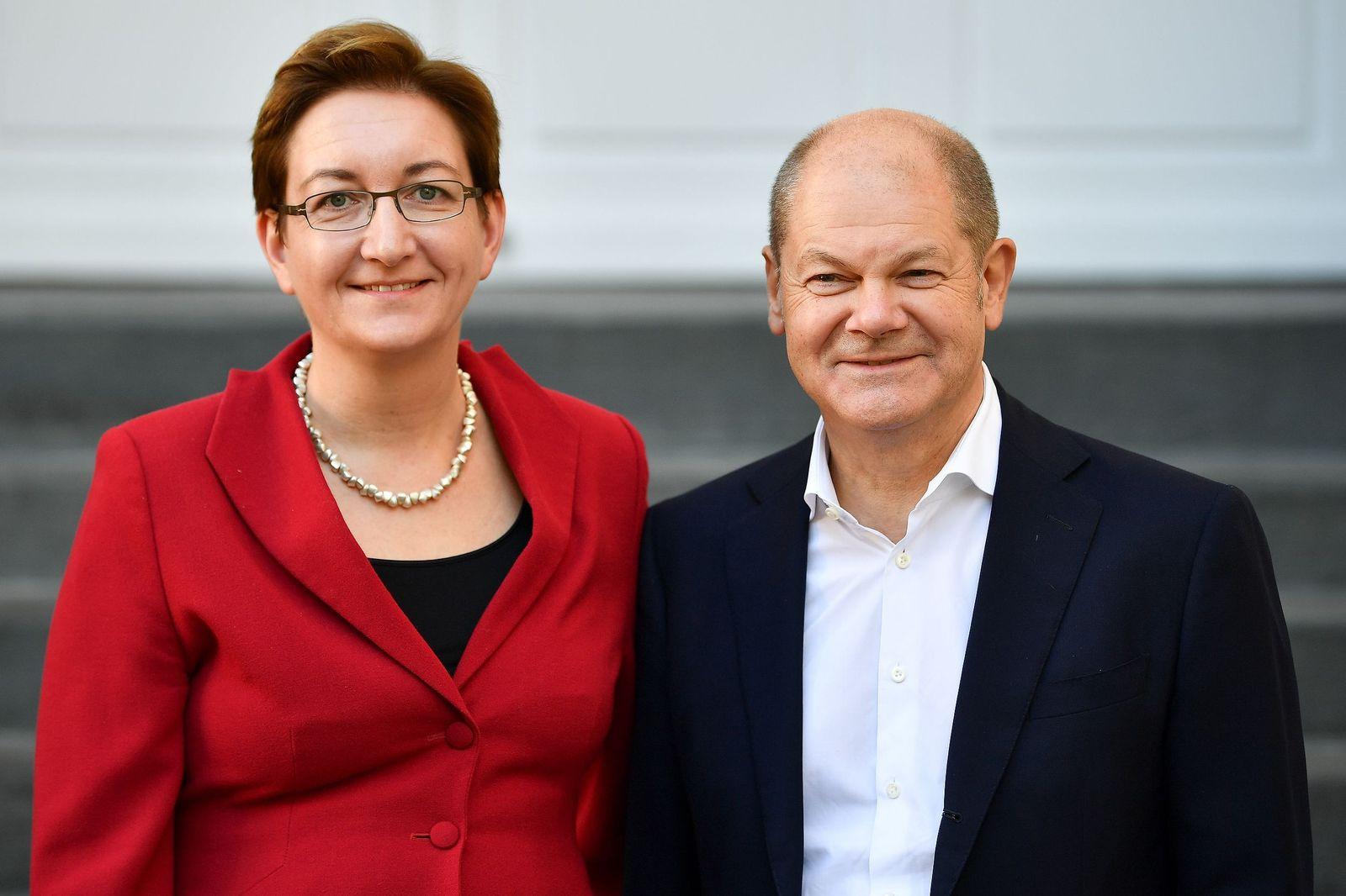 SPD/ Klara Geywitz/ Olaf Scholz