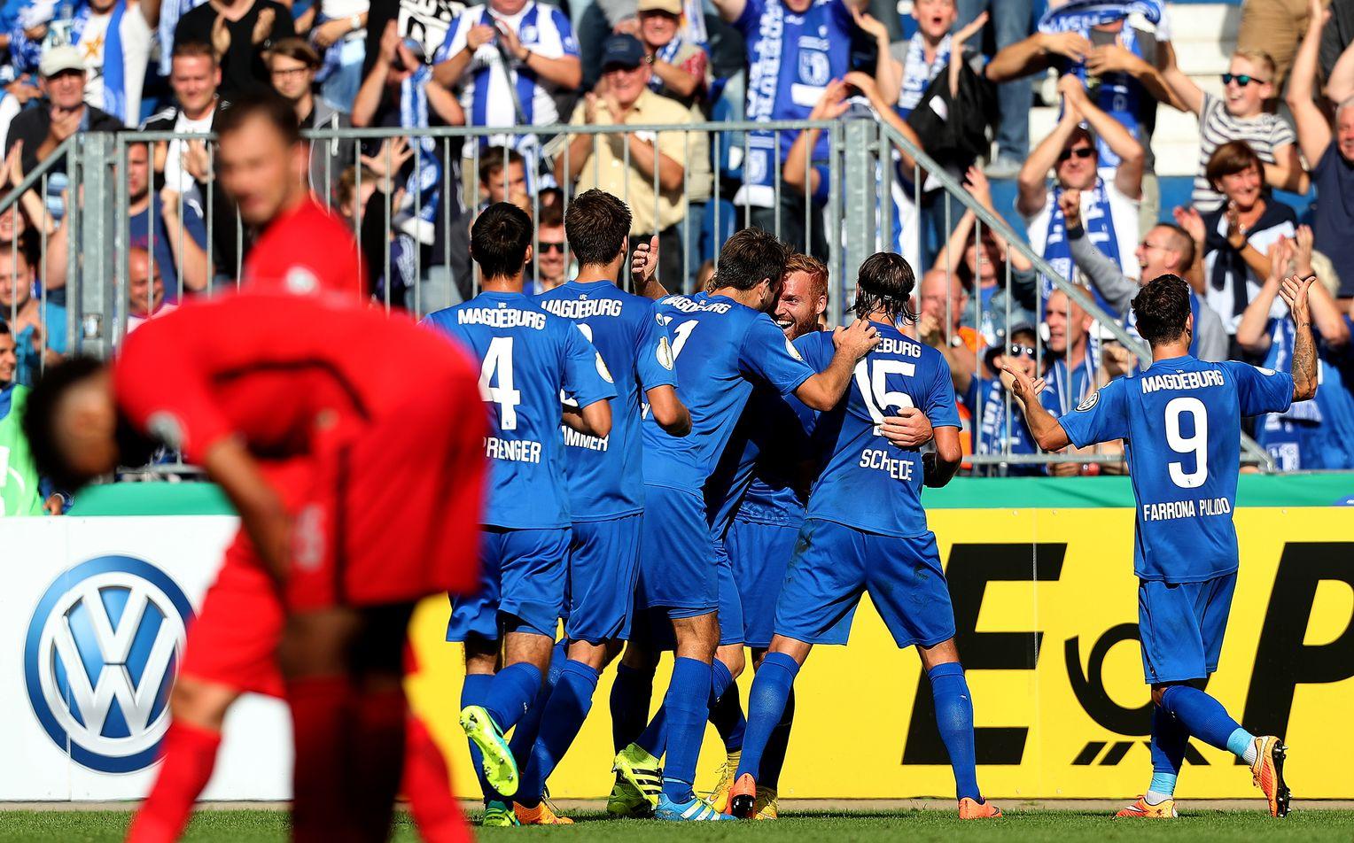 Magdeburg Gegen Frankfurt