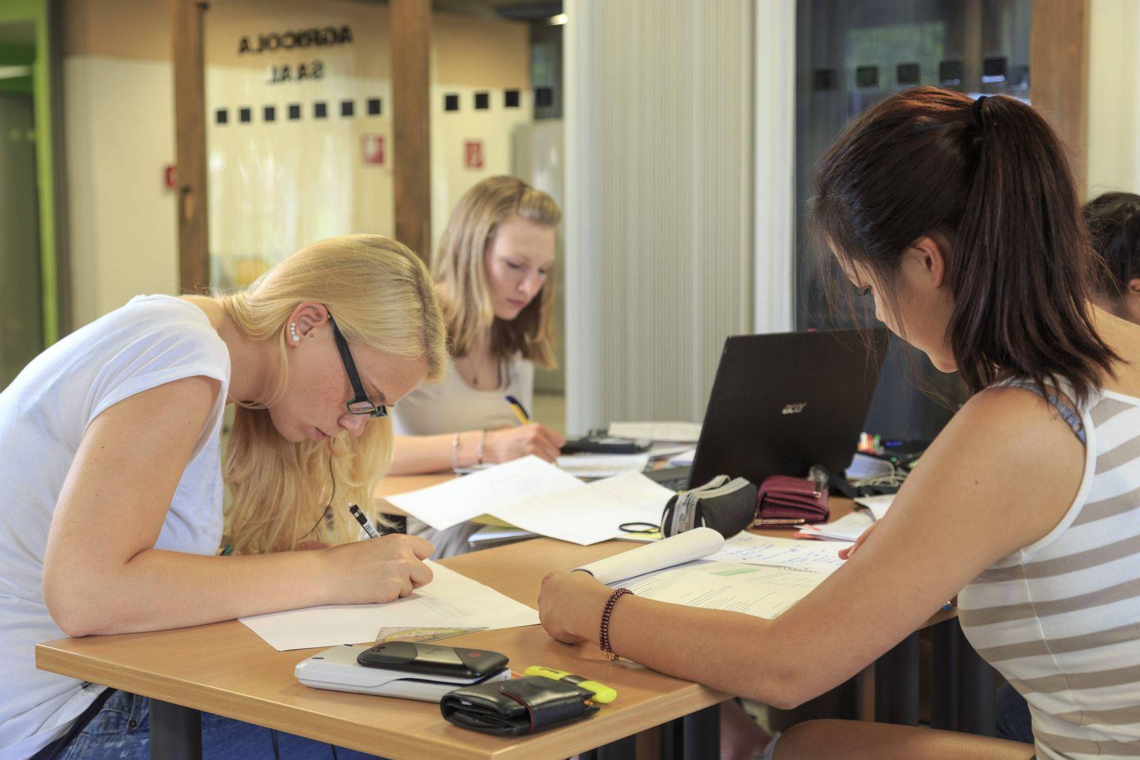 EINMALIGE VERWENDUNG Ausländische Studenten / Ostdeutschland