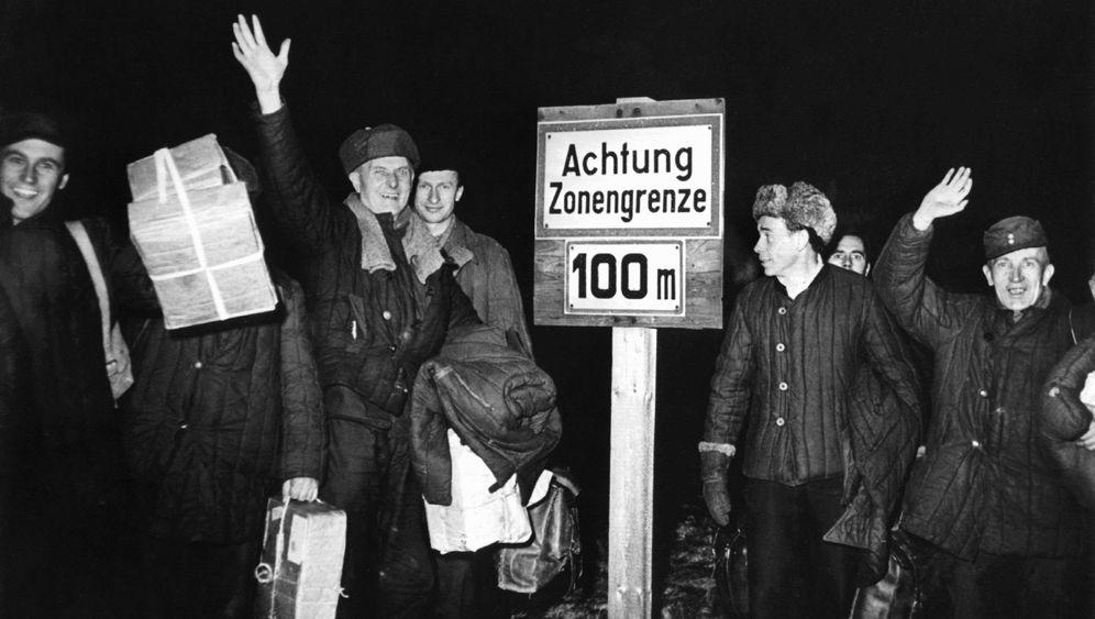 Deutsche Kriegsgefangene: Sowjetunion ließ deutsche Kriegsgefangene frei