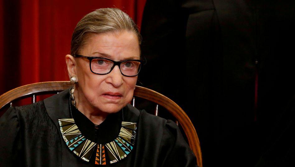 Heldin des liberalen Amerika: Ruth Bader Ginsburg