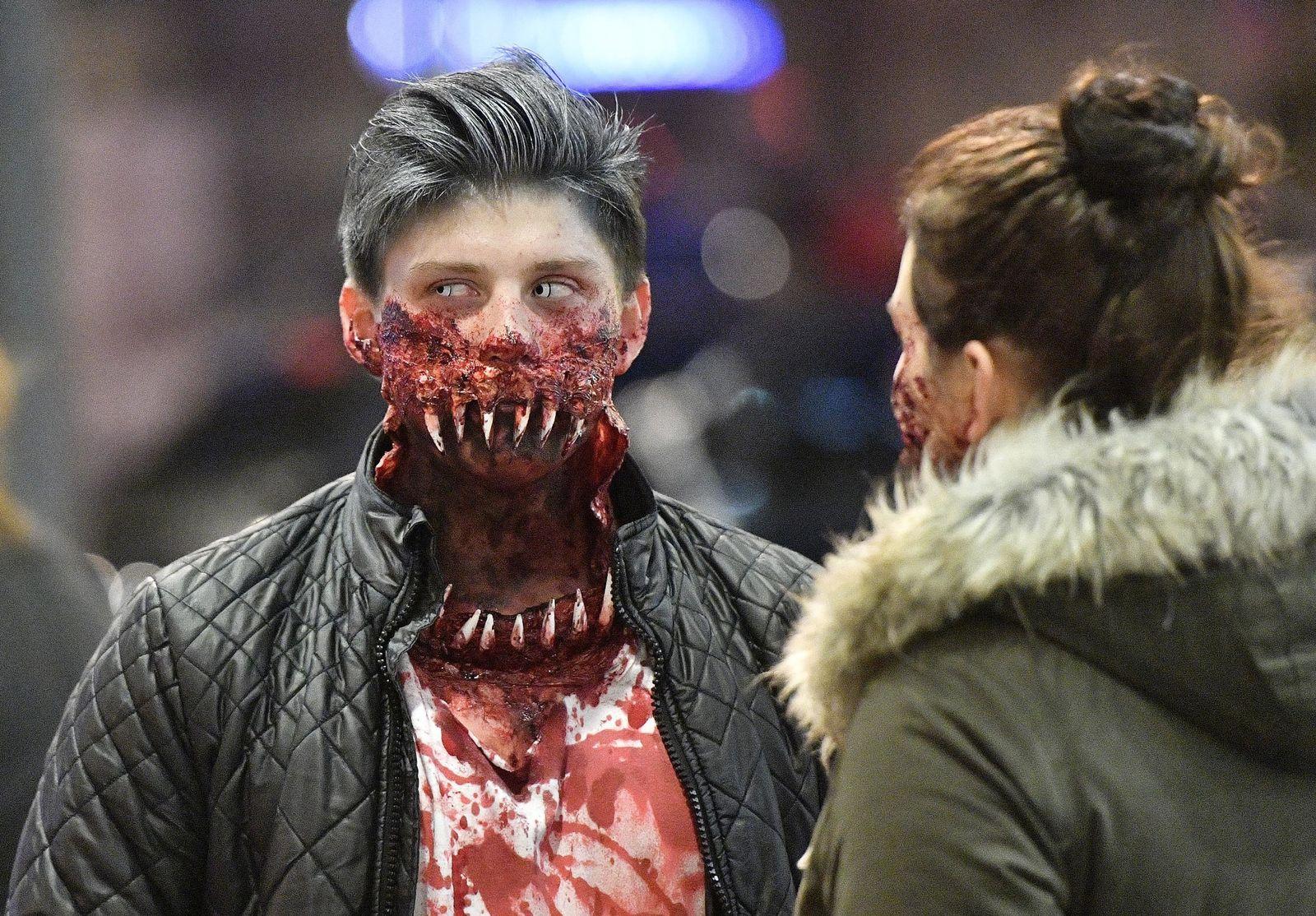 Germany Halloween Zombie Walk