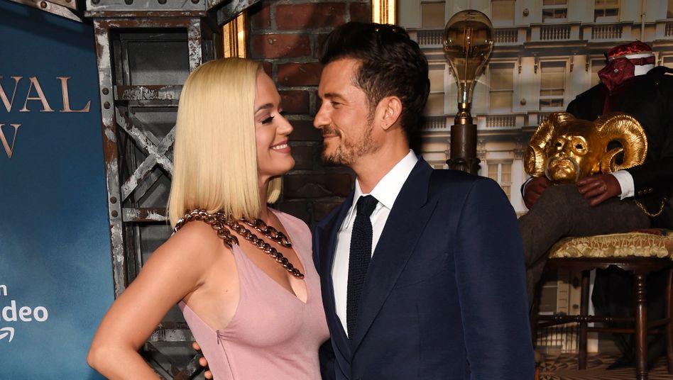 Frischgebackene Eltern: Katy Perry und Orlando Bloom (Archivbild vom August 2019)