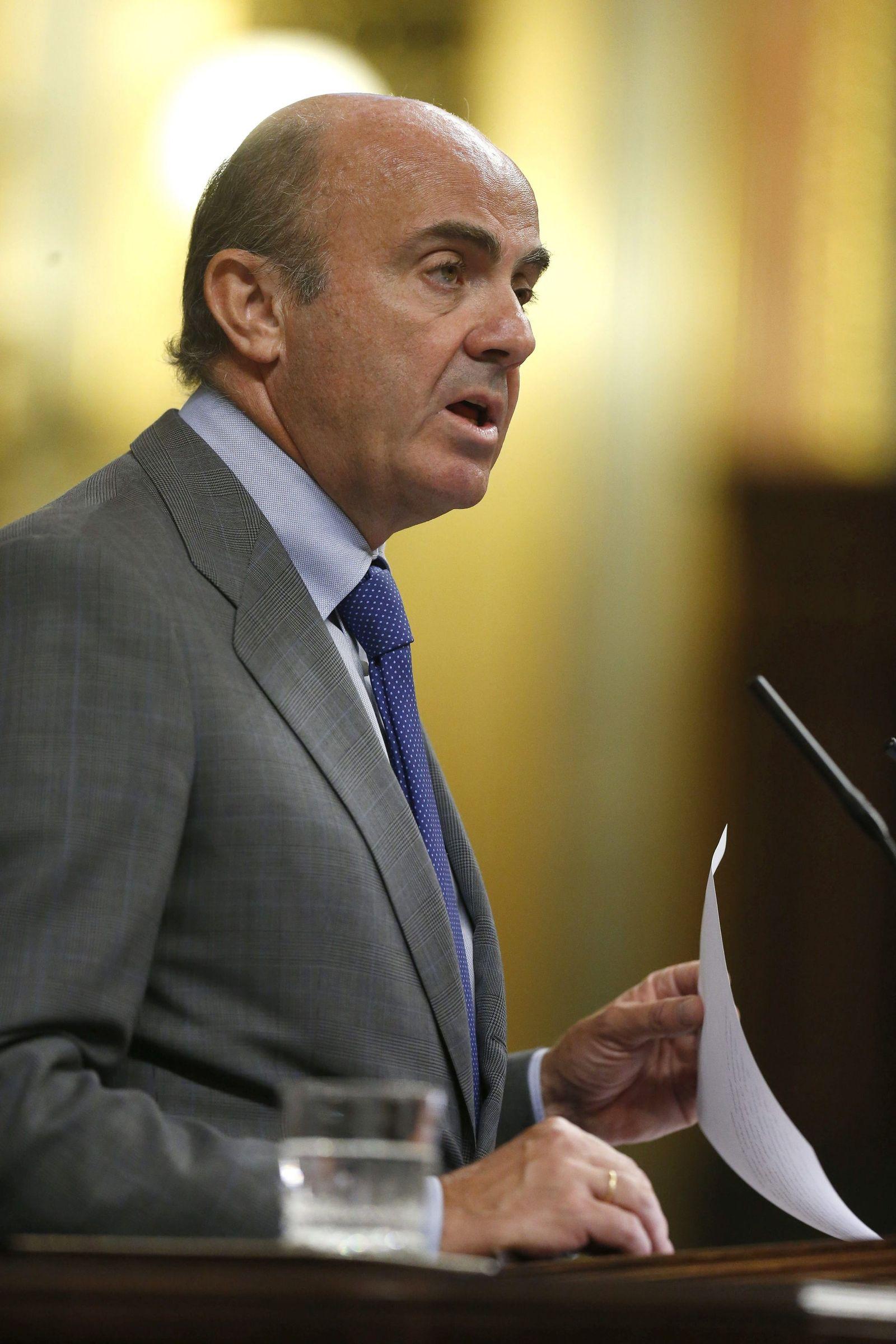 Luis de Guindos/ Spanien/