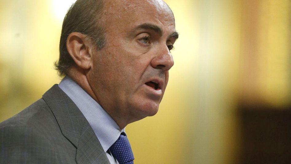 Spaniens Wirtschaftsminister de Guindos: Unterstützung für Griechenland