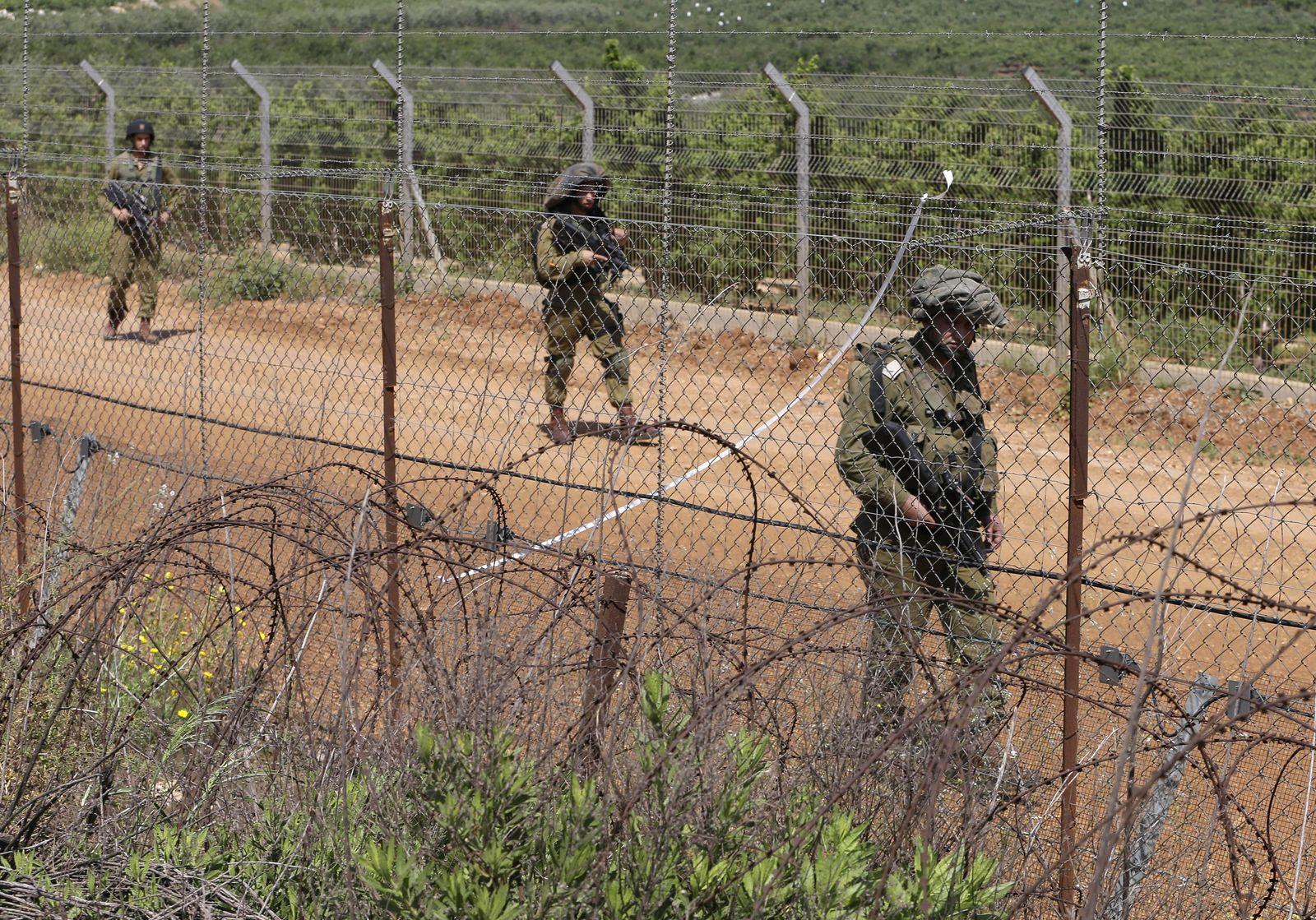 Mideast Lebanon Syria Israel