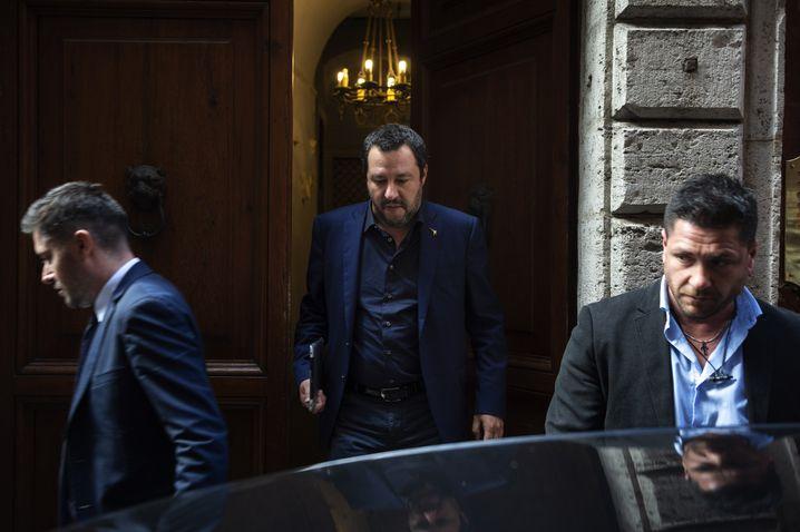 Lega head Matteo Salvini