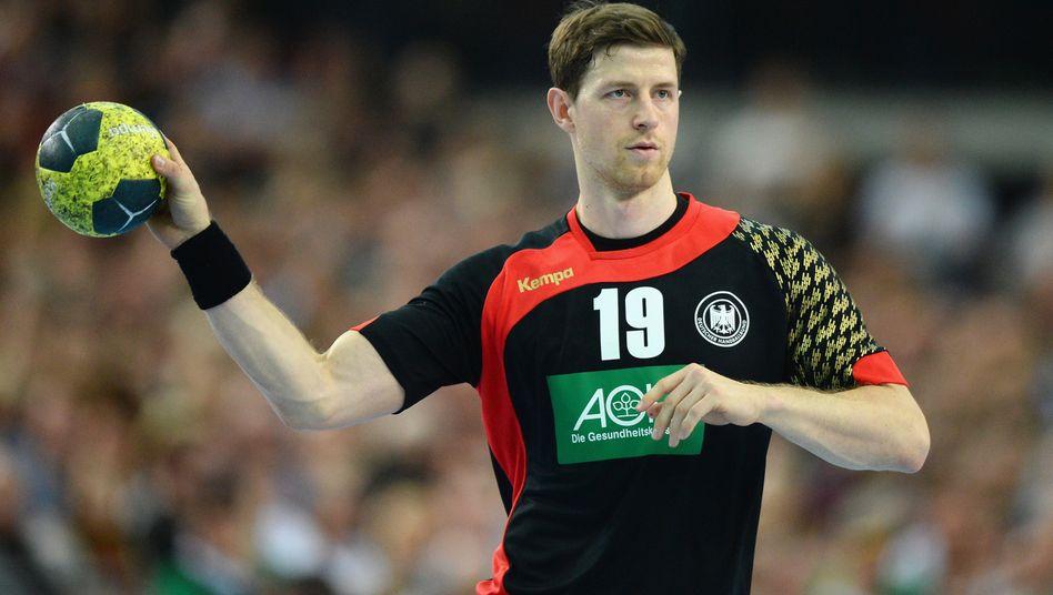 Seit 2007 spielte Martin Strobel für die Deutsche Handballnationalmannschaft (Archivbild 2016)