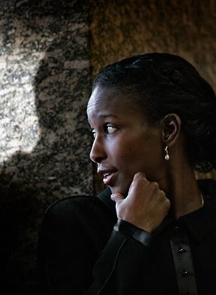 "Dutch politician Ayaan Hirsi Ali: ""My life was turned upside down."""