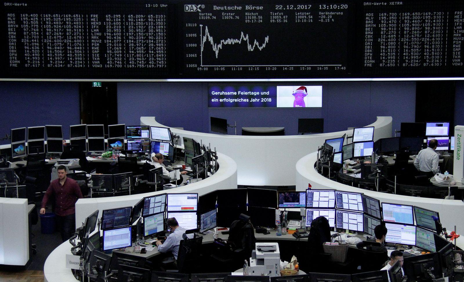 Konjunktur Börse/ MARKETS-EUROPE-STOCKS/