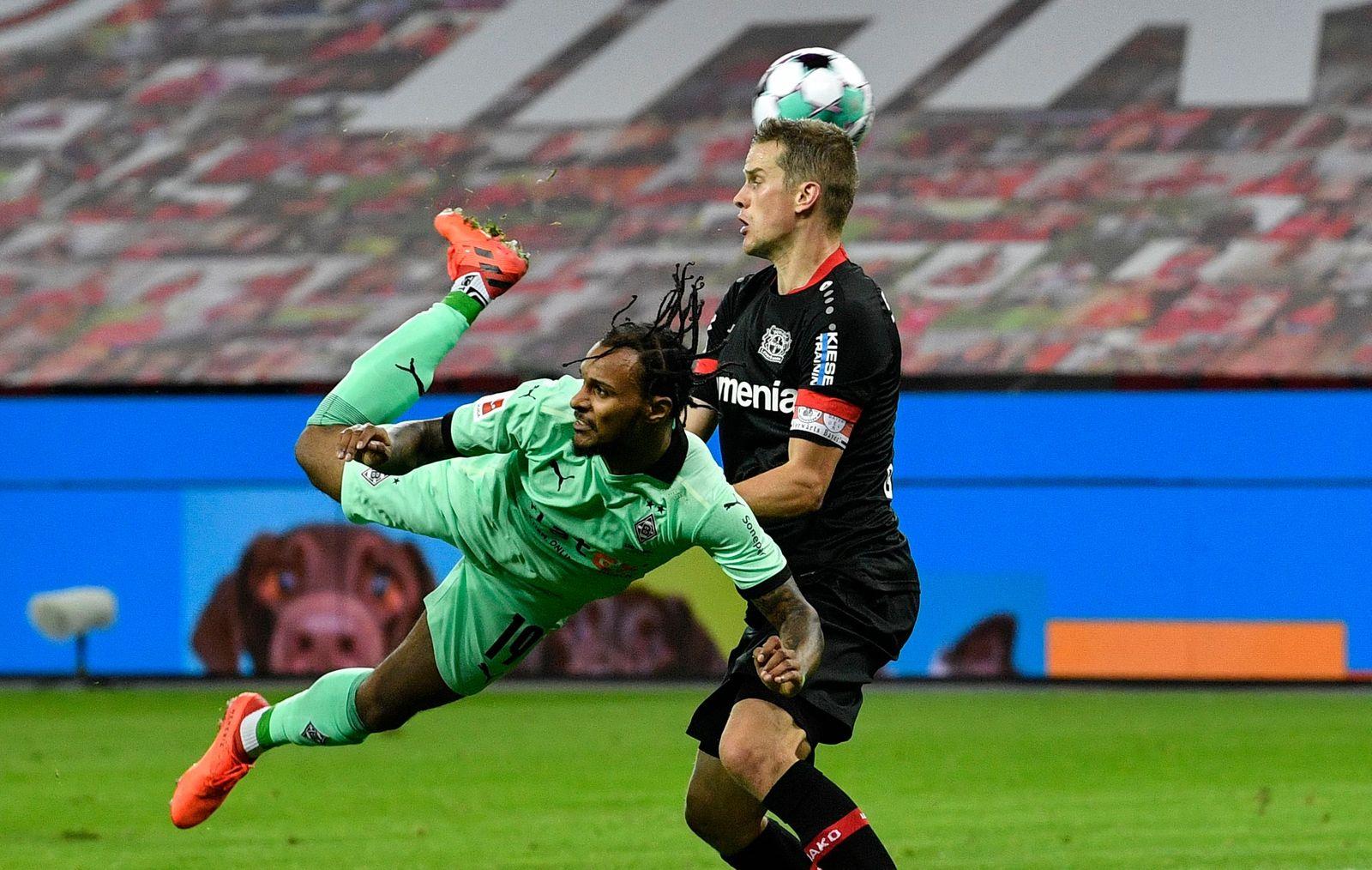 Bayer Leverkusen vs Borussia Moenchengladbach, Deu - 08 Nov 2020