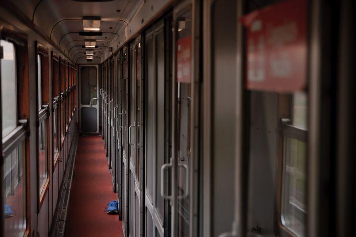 Alte schwedische Liegewagen: Der Geruch von staubigen Polstern