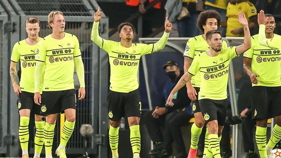 Donyell Malen erzielte gegen Sporting den einzigen BVB-Treffer