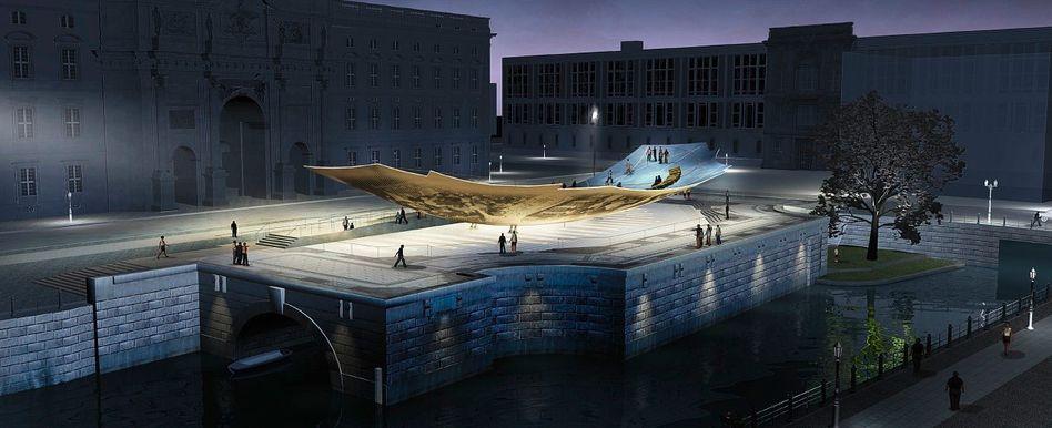 Berliner Schlossplatz (Simulation)