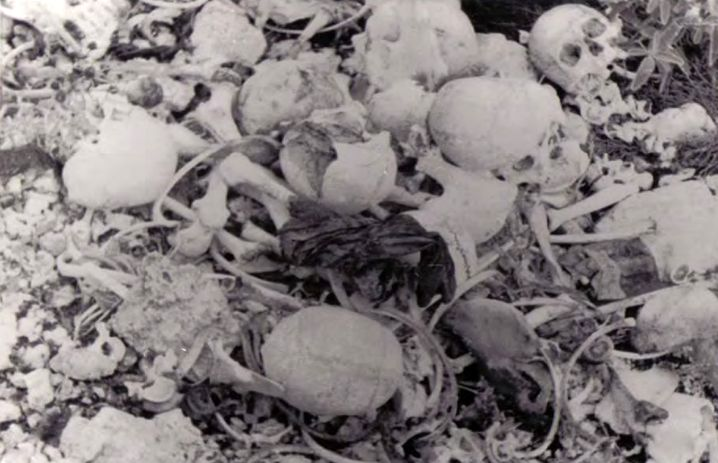 Noch Jahre nach dem Massaker fand man auf Kefalonia die Gebeine der toten Italiener