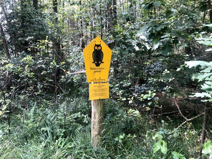 Naturschutzgebiet: Menschen halten sich nicht immer an Warnhinweise