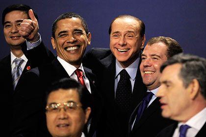 G-20-Gipfel-Teilnehmer: Größtes Konjunkturprogramm aller Zeiten