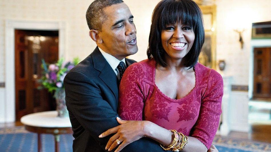 US-Präsident Obama, Ehefrau Michelle 2013: Keine Affären, keine Skandale