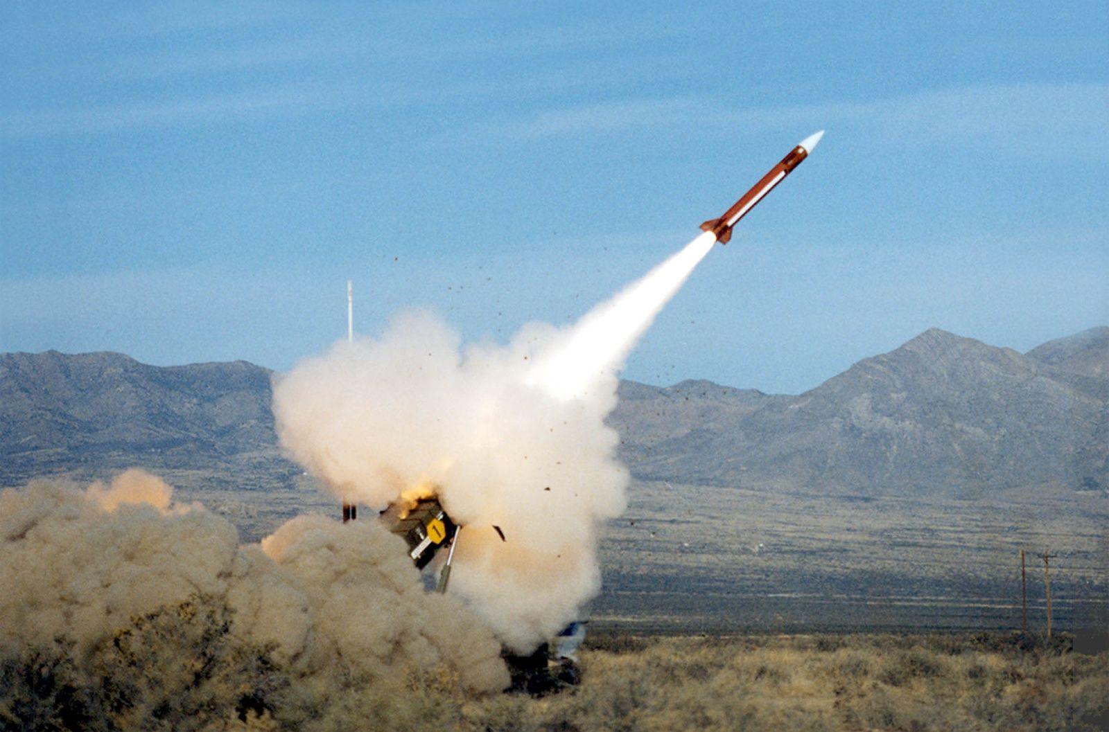 NICHT VERWENDEN Patriot-Luftabwehrsystem