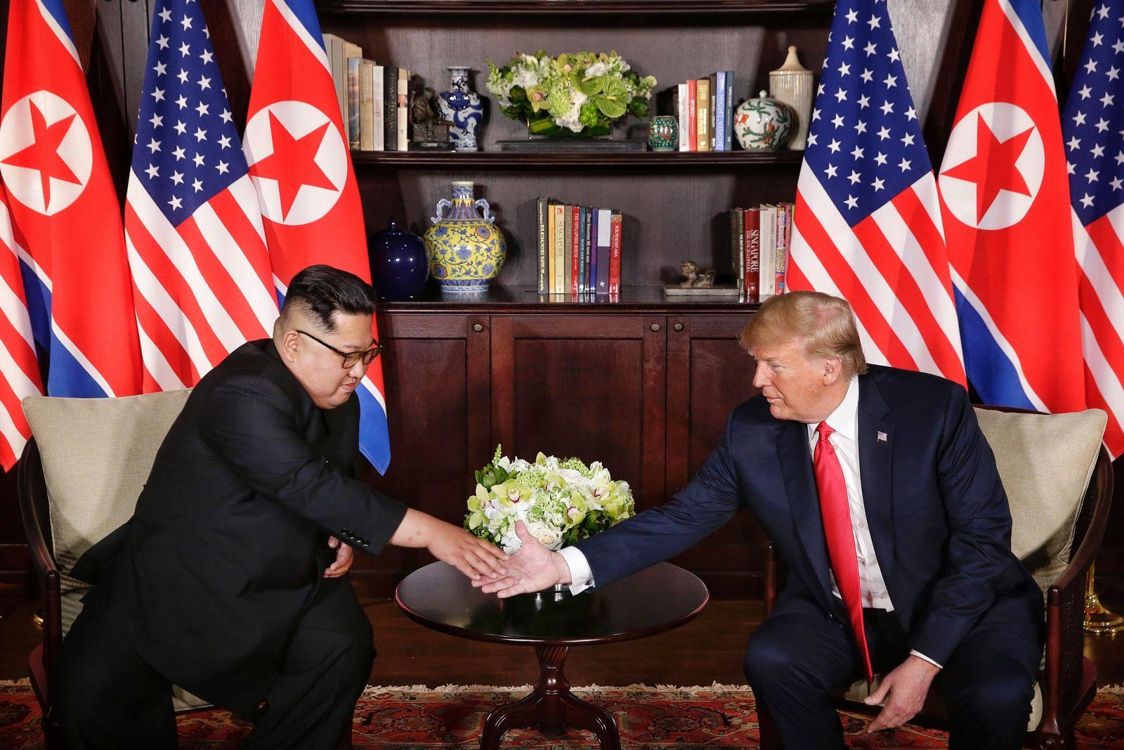 Gipfeltreffen/ Singapur/ Kim/ Trump