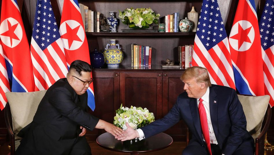 Kim Jong Un und Donald Trump