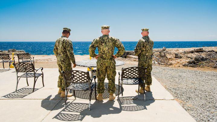 Alltag in Guantanamo: Mit Fußfessel im Urlaubsparadies