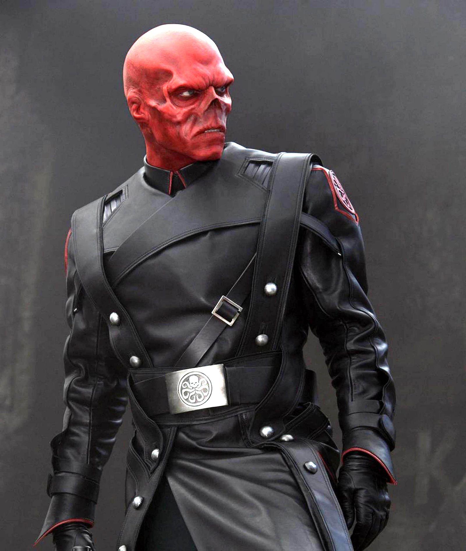 EINMALIGE VERWENDUNG Red Skull