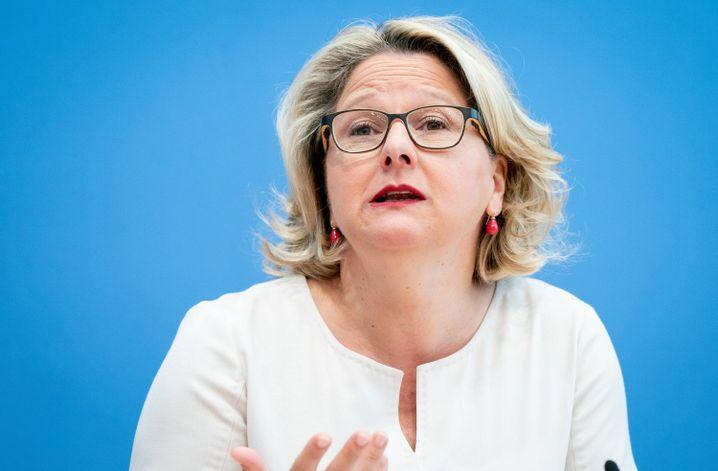 Svenja Schulze: Wegwerfmentalität passt nicht in die Zeit