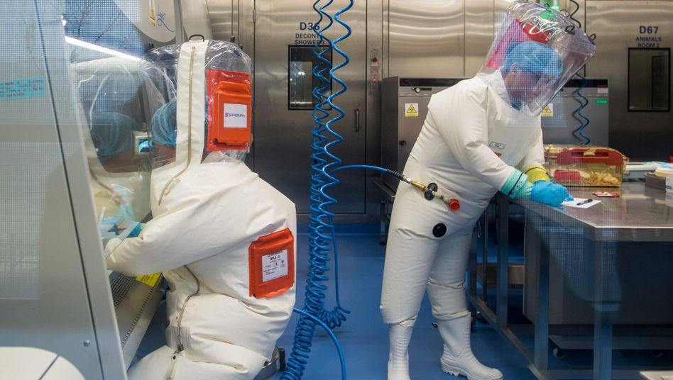 Labor in Wuhan: Immer wieder wurde das Labor mit dem Ausbruch der Pandemie in Verbindung gebracht