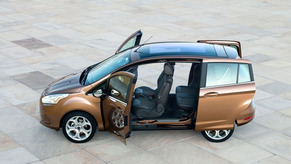 Autogramm Ford B-Max: Alles offen
