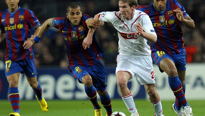 Barcelona vs. Stuttgart: Messi zaubert, Barça jubelt