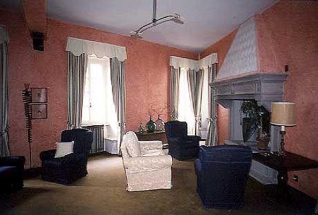 Der Salon im Hotel Pironi