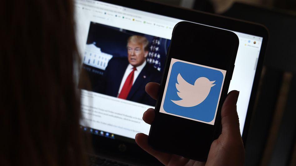 Trump und Twitter: Der Streit spitzt sich zu