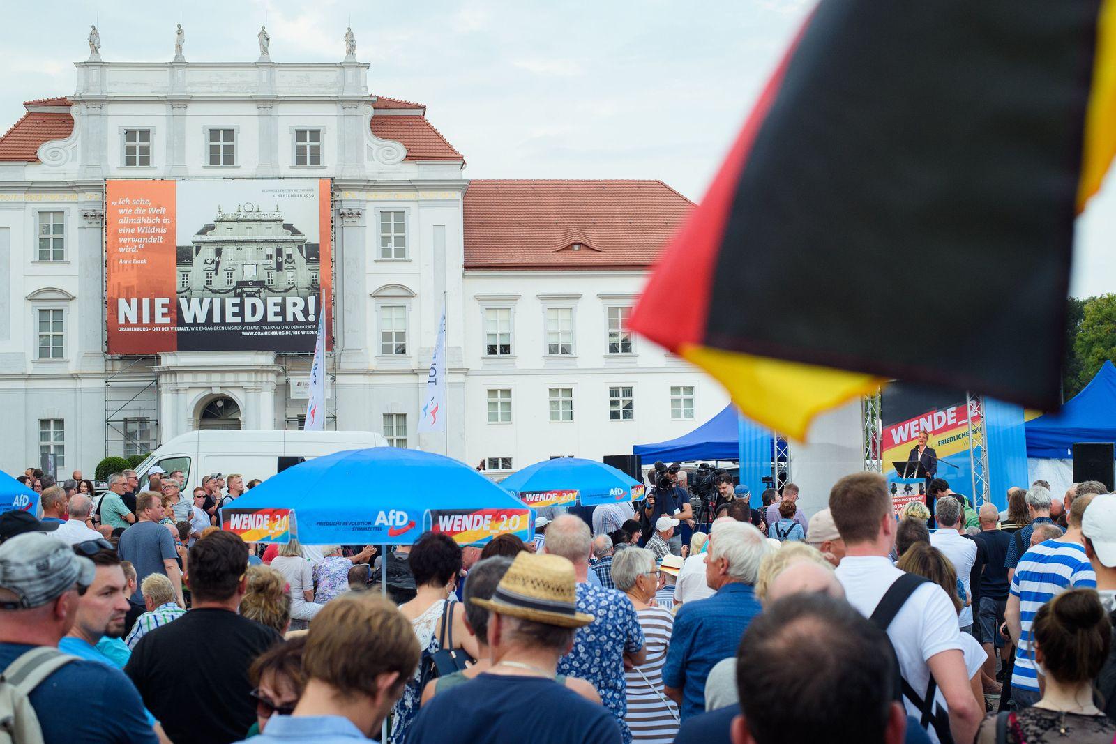 Wahlkampf in Brandenburg