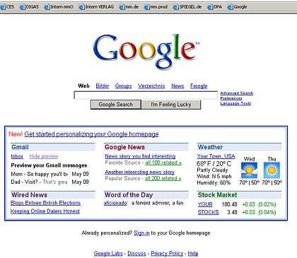 Suchmaschine Google: Begehrte Plätze in den Ergebnislisten