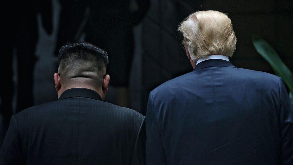 Gesprächspartner Kim, Trump »Das funkte bei uns von Anfang an«