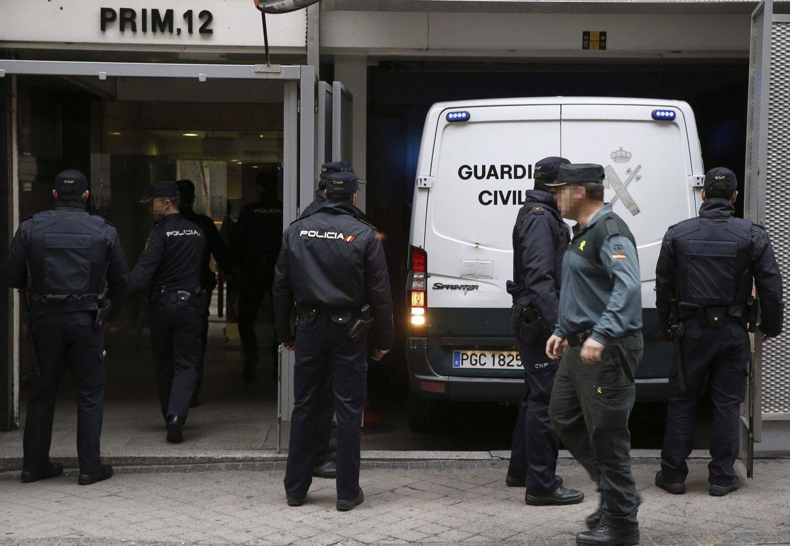 11 jihadists arrested in Barcelona