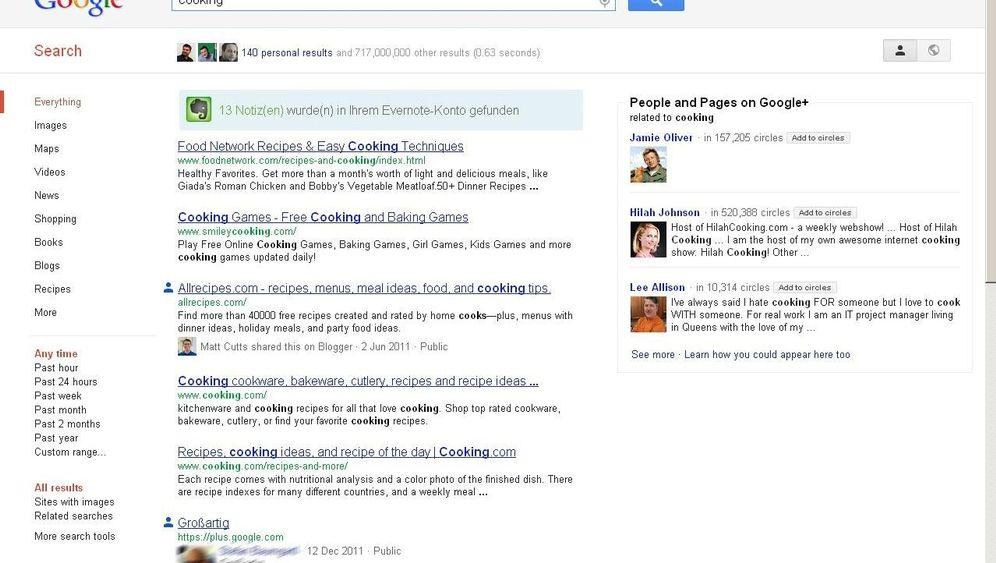 Focus on the user: Browser-Erweiterung für relevantere Google-Treffer
