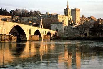 Avignon: Schnee ist selten und wird jedes Mal wie ein Weltwunder gefeiert
