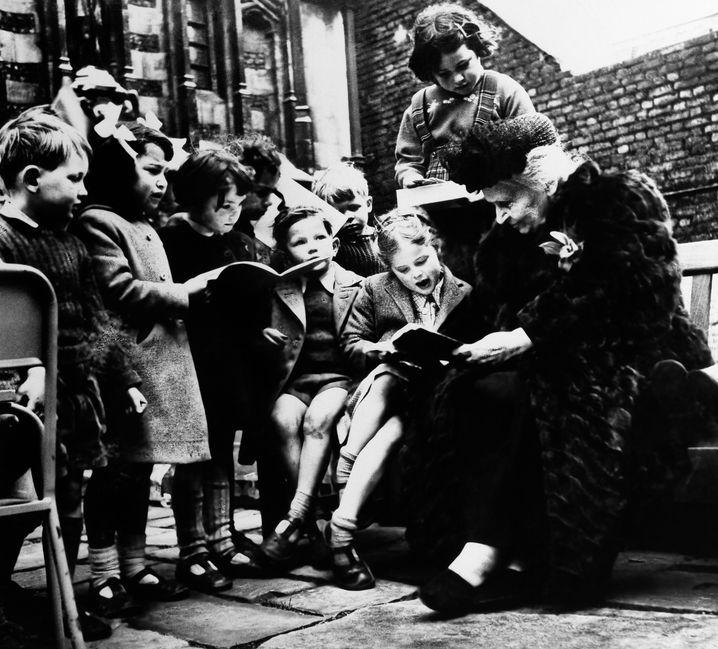 """Die """"Dottoressa"""" und ihre Zöglinge: Montessori in Rom"""