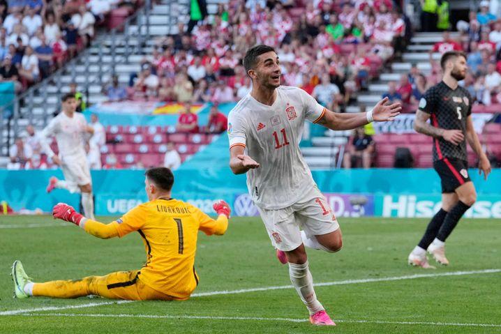 Ferran Torres traf gegen Kroatien